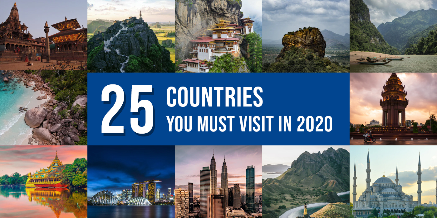 25 cheapest countries to visit from India in 2020