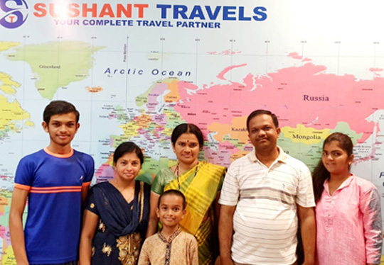 Golden Triangle Tour with Mr. Amol Shinde and his family