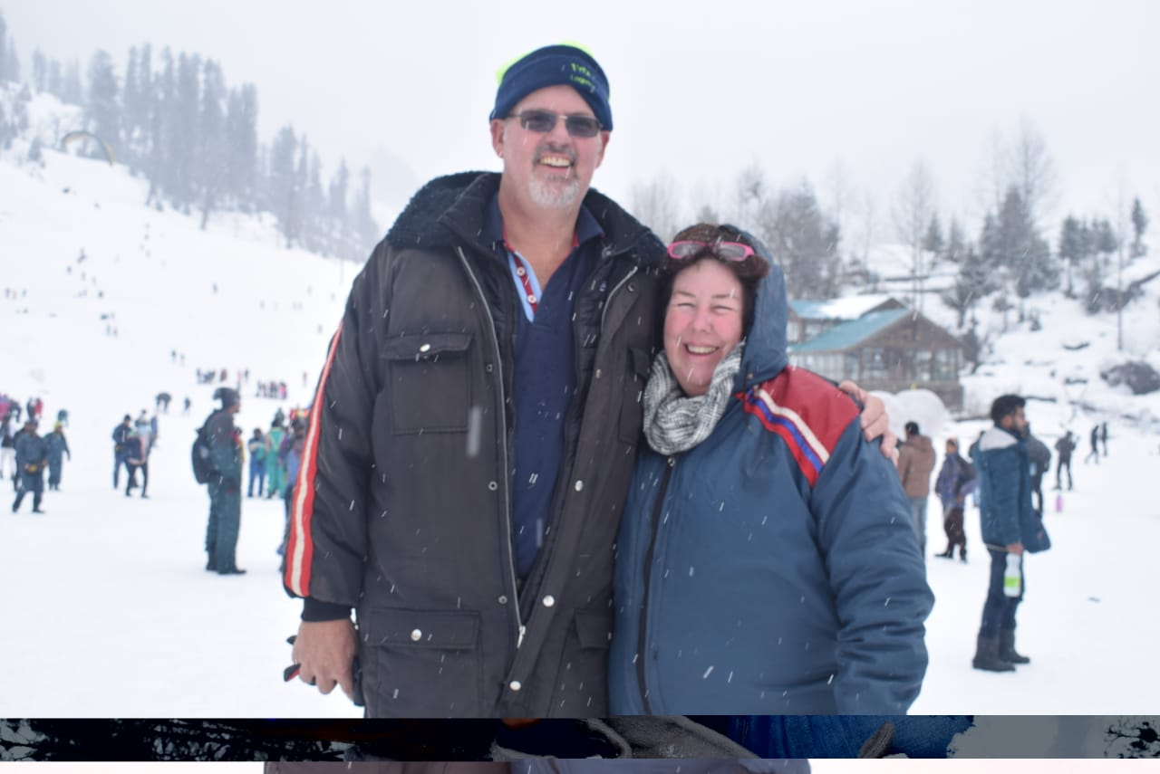 Mr. Mark John Ward From Australia Visited Golden Triangle and Manali Tour