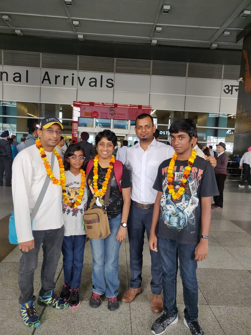 Mrs. Sherena S Siva From Malaysia visited North India tour with her family.