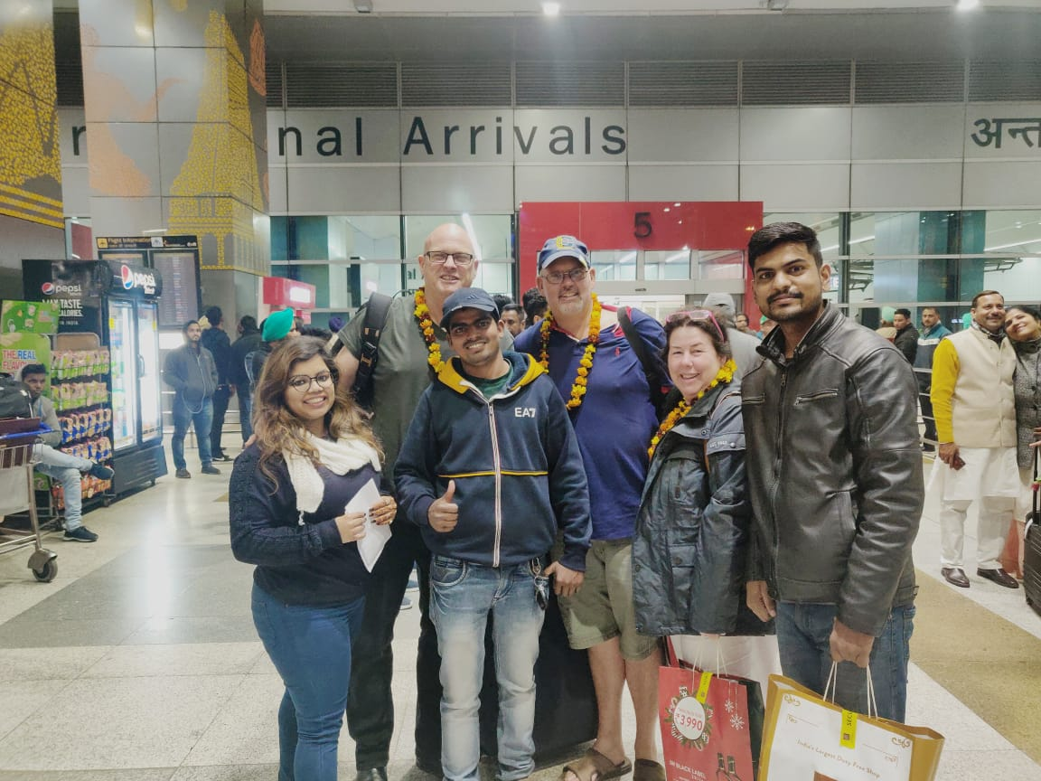 Mr. Mark John from Australia Visited Rajasthan and Manali tour with Sushant Travels