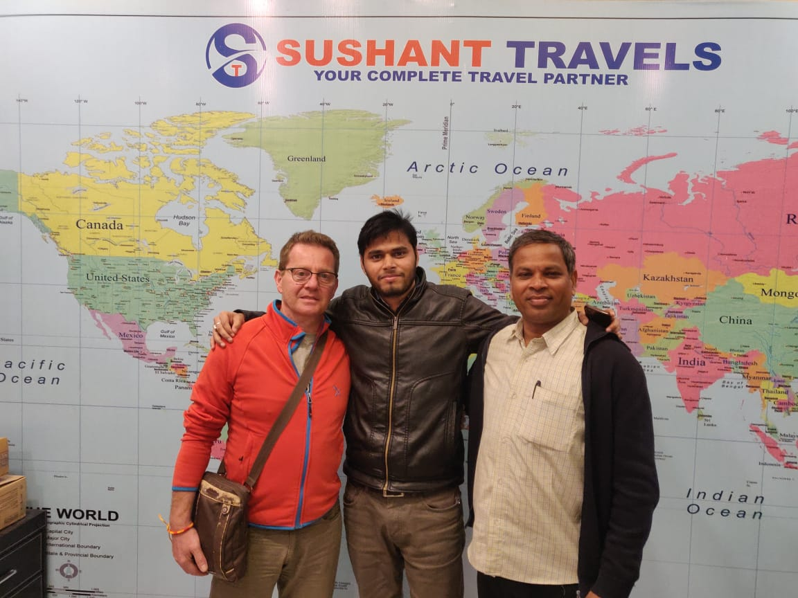 Mr. Aadi Kala Sami From Turkey Visited Rajasthan With Sushant Travels